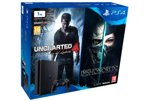consola ps4 slim 1tb uncharted 4 dishonored 2 barata chollos amazon blog de ofertas bdo