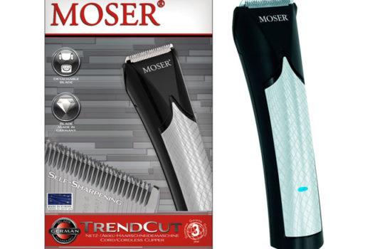 ¡Chollo! Cortapelos Moser 1660.0460 TrendCut sin cable barata 36 euros. 44% Descuento
