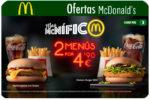 Ofertas McDonalds Enero y descubre los Descuentos Mes McNífico