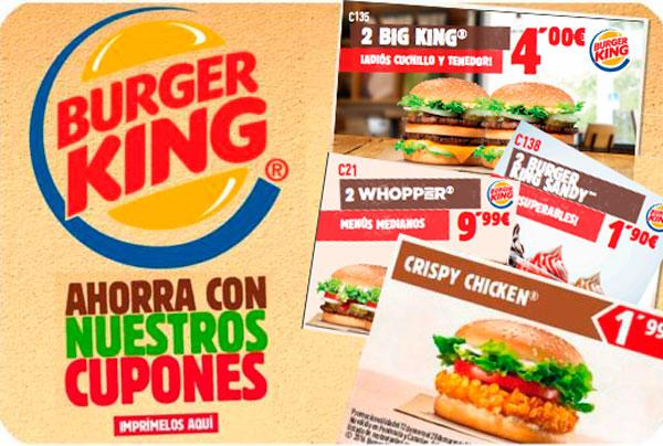 descuentos ofertas burger king enero 2017 blog de ofertas bdo