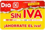 Día SIN IVA Supermercado Día ¡Ahórrate el IVA en tu compra!