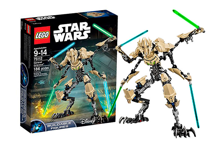 donde comprar lego star wars general grievous 75112 barato chollos amazon blog de ofertas bdo