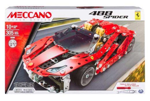 meccano ferrari 488 spider barato chollos amazon blog de ofertas bdo