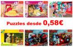 ¿Dónde comprar Puzzles baratos? Desde 0,58€