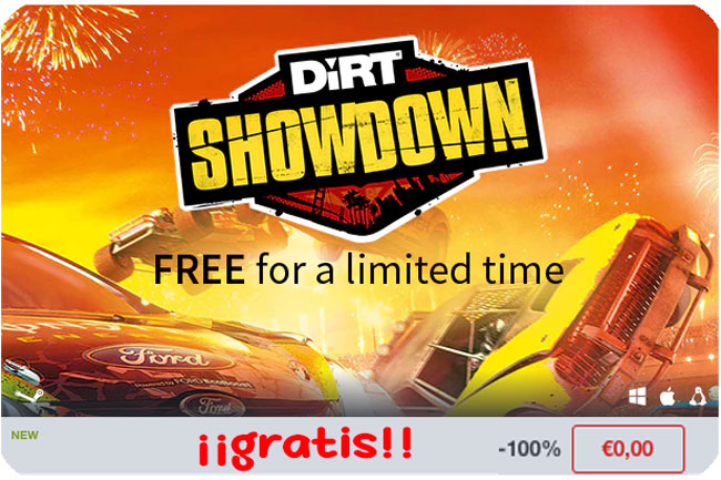 gratis juego dirt showdown barato chollos amazon blog de ofertas bdo