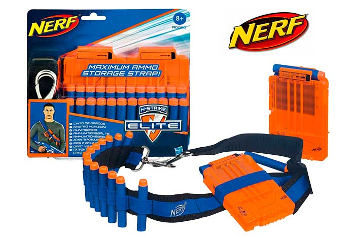kit bandolera nerf chollos amazon blog de ofertas dardos bdo