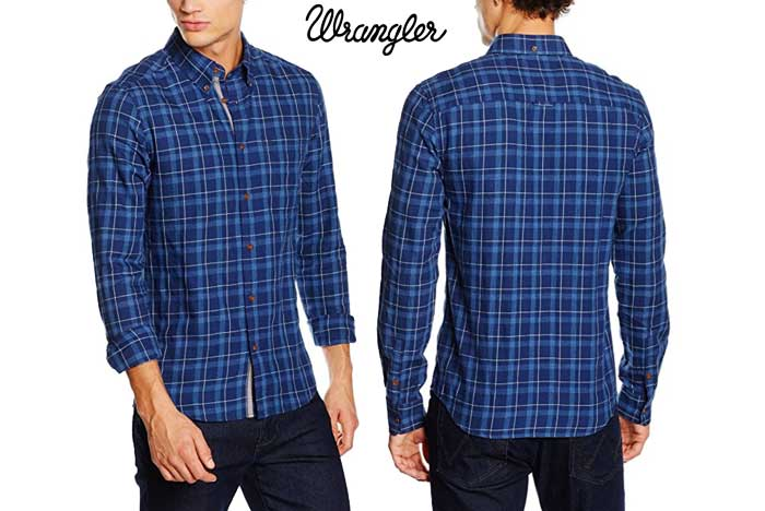 camisa wrangler barata oferta descuento chollo blog de ofertas