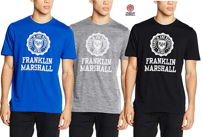 Camiseta Franklin & Marshall barata oferta descuento chollo blog de ofertas