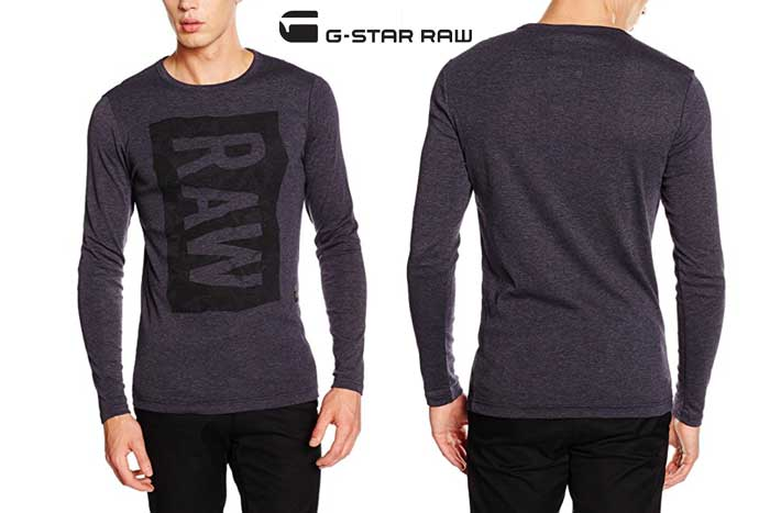 Camiseta G-Star Raw Harvue barata oferta descuento chollo blog de ofertas