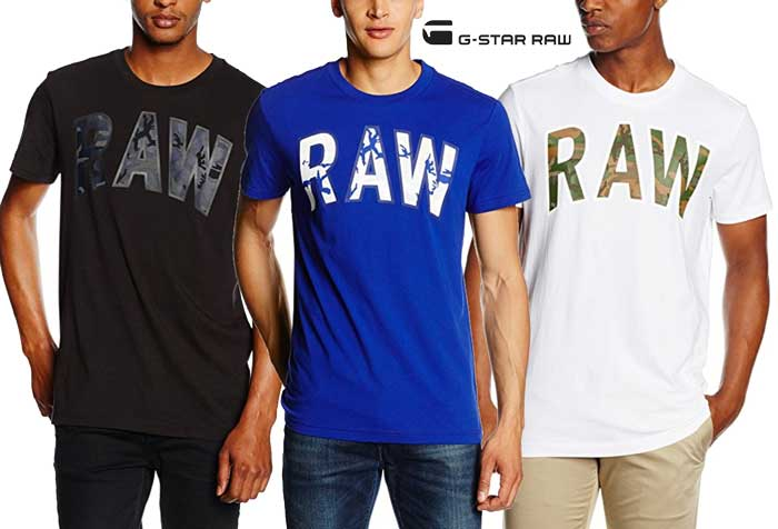 Camiseta G-Star Raw Poskin barata oferta descuento chollo blog de ofertas