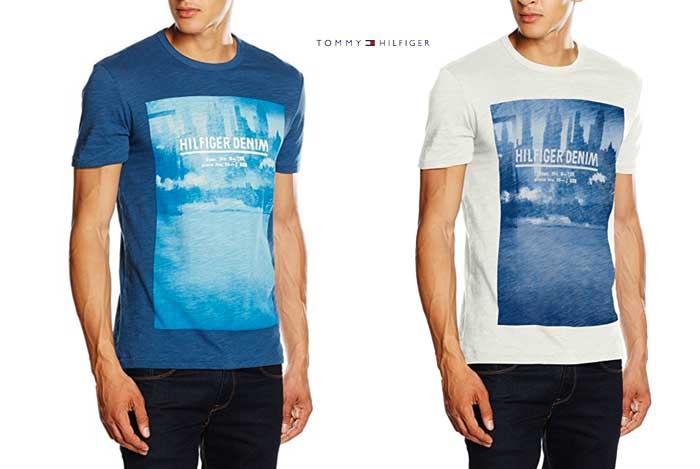 Camiseta Tommy Hilfiger barata oferta descuento chollo blog de ofertas