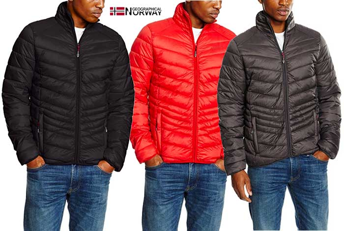 Chaquetón Geographical Norway barato oferta descuento chollo blog de ofertas