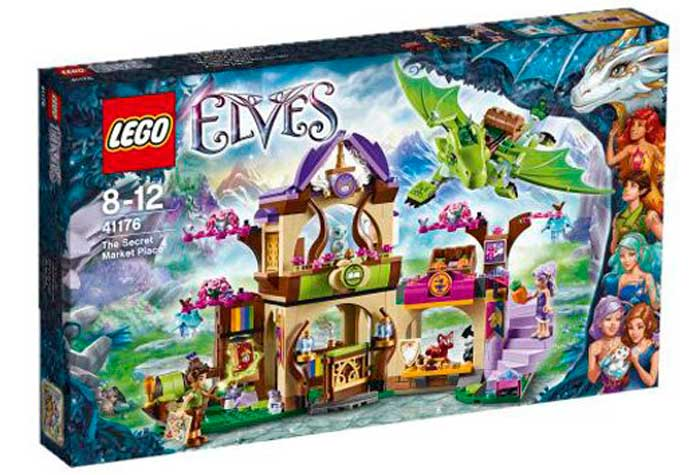 Lego Elves Mercado secreto barato oferta descuento chollo blog de oferta