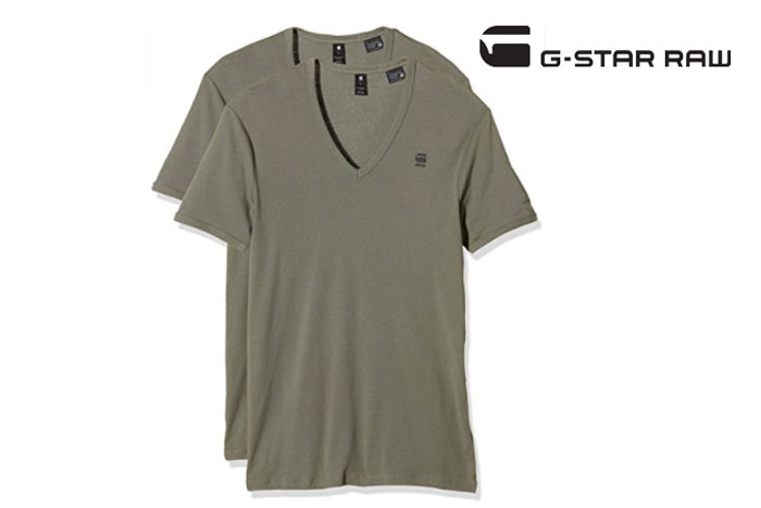Pack 2 camisetas G-Star Raw básicas baratas oferta descuento chollo blog de ofertas.jpg