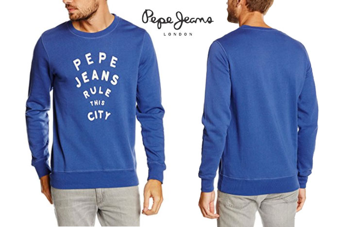 sudadera pepe jeans oceanus barata oferta descuento chollo bdo