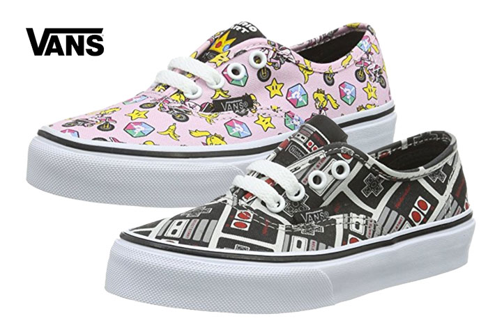 Zapatillas Vans Authentic Nintendo baratas ofertas descuentos chollos blog de oferta