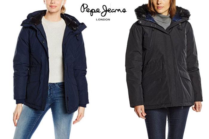 chaqueton pepe jeans lizy barato oferta descuento chollo blog de ofertas .jp