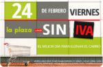 Día sin IVA en la Plaza de Día ¡Sólo HOY 24 de Febrero!