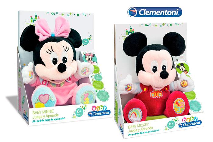 peluche clementoni juega y aprende Mickey Minnie barato chollos amazon blog de ofertas bdo