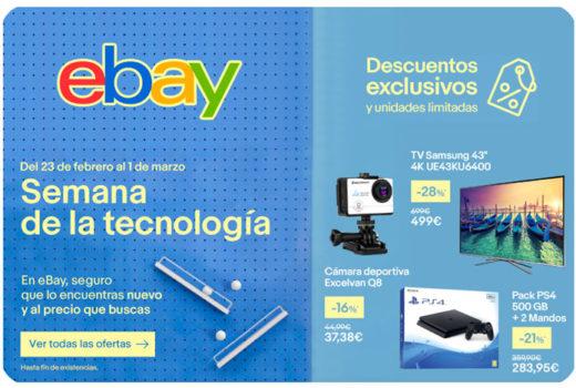 semana de la tecnologia ebay chollos rebajas blog de ofertas bdo
