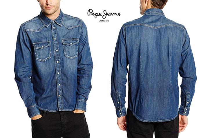 Camisa Pepe Jeans Cardon barata oferta descuento chollo blog de ofertas bdo