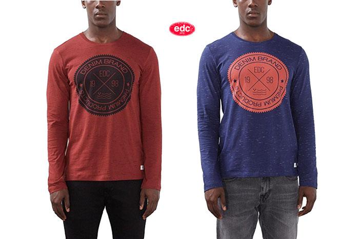 Camiseta Edc by Esprit barata oferta descuento chollo blog de ofertas bdo