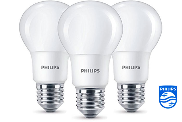 Pack 3 bombillas LED Philips E27 baratas ofertas descuentos chollos blog de ofertas bdo
