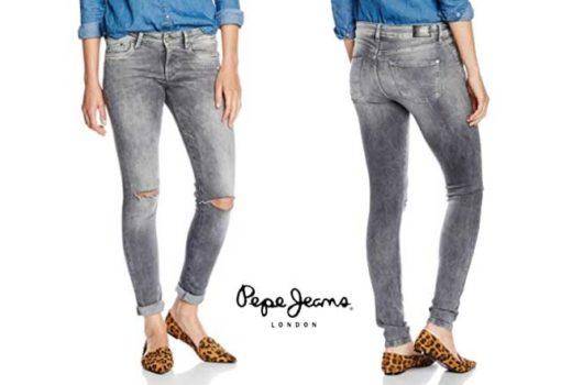 Pantalones Pepe Jeans Pixie baratos ofertas descuentos chollos blog de ofertas bd