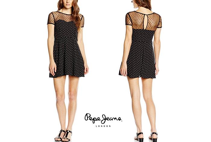Vestido Pepe Jeans London Nina barato oferta descuento chollo blog de ofertas bdo