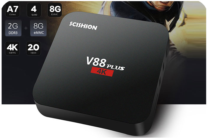 android tv scishion v88 plus barato chollos gearbest blog de ofertas bdo