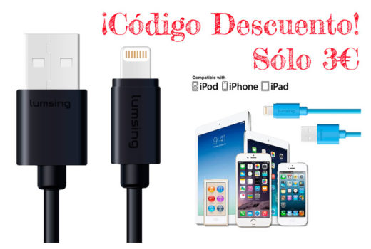 cable lightning lumsing barato chollos amazon blog de ofertas bdo