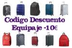 Código Descuento -10€Equipaje en Amazon ¡Hasta 24 de Marzo!