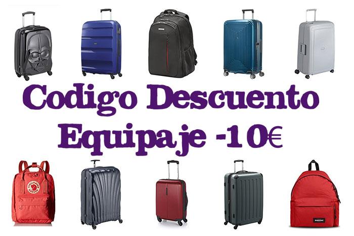 codigo descuento -10€ equipaje chollos amazon blog de ofertas bdo