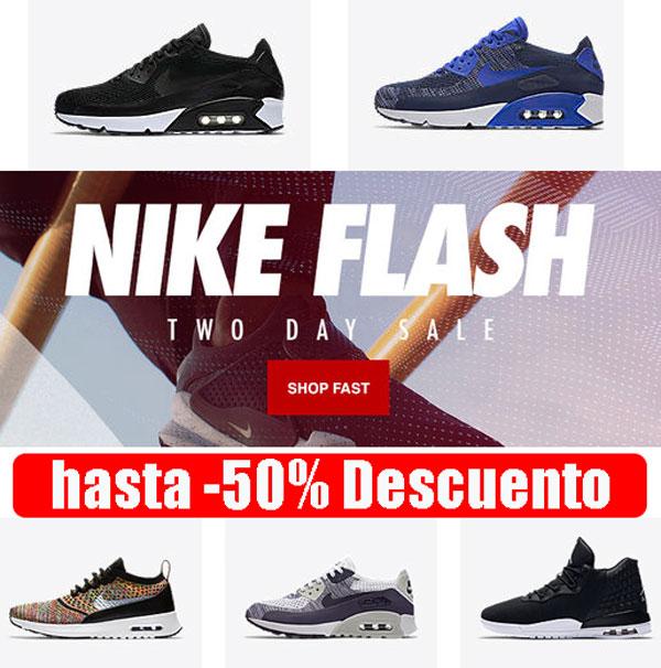 ofertas nike flash 50 descuento blog de ofertas bdo