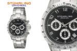¡Chollo Flash! Reloj Stuhrling Original Monaco Concorso 99,85€-78% Descuento