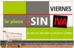 Día sin IVA en la Plaza de Día ¡Sólo HOY 31 de Marzo!