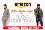 NOVEDADES17 Código -20% Descuento en la Nueva Colección en Amazon