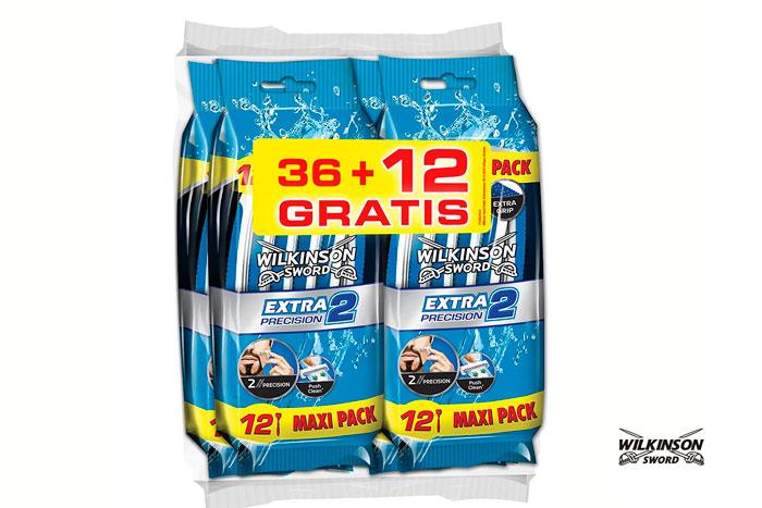Pack 48 cuchillas Wilkinson Extra 2 Precision baratas ofertas descuentos chollos blog de ofertas bdo