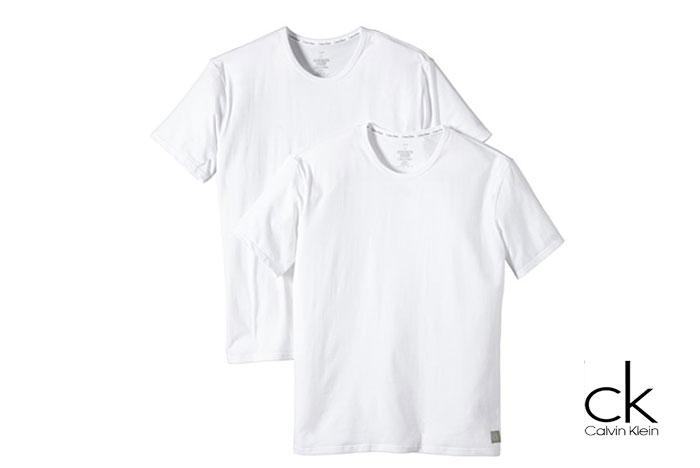 Pack Camisetas básicas Calvin Klein baratas ofertas descuentos chollos blog de ofertas bdo .