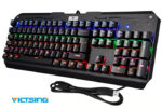 ¡Chollo! Teclado Gaming VicTsing barato 25,99€