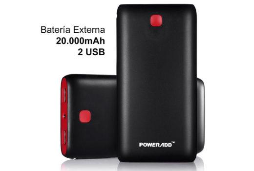 bateria externa poweradd 2000mah barata chollos amazon blog de ofertas bdo