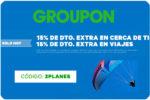 ¡Sólo HOY! -15% Descuento Extra en Groupon