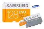 ¡Chollo! Tarjeta MicroSD Samsung EVO 128GB barata 34€ al -60% Descuento