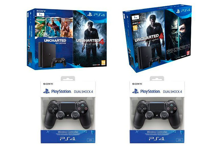 consola ps4 slim uncharted 4 ds4 barata chollos amazon blog de ofertas bdo