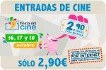 Entradas de Cine baratas 2,90€¡Vuelve la Fiesta del Cine!