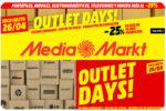 Outlet Days en MediaMarkt -25% Descuento en Más de 10.000 Productos