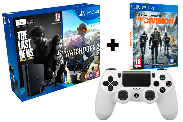 donde comprar pack consola sony ps4 slim negra 1tb juegos mando adicional barata chollos mediamarkt blog de ofertas bdo