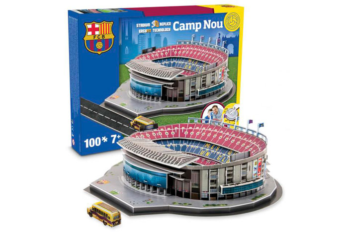 puzzle 3d estadio camp nou barato chollos amazon blog de ofertas bdo