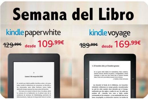 semana del libro amazon kindle paperwhite kindle voyage barata chollos amazon blog de ofertas bdo
