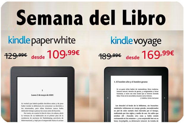 semana del libro amazon kindle paperwhite kindle voyage barata chollos amazon blog de ofertas bdo